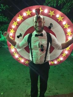 Knife thrower accident costume on Halloween Forum