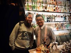 When the master himself comes to town. came to visit for the first time at hosted by for two and i was lucky to get a space. I love his bar in and visited many times. I Love Him, My Love, Zurich, Bartender, Switzerland, Tokyo, Japan, Times, Space