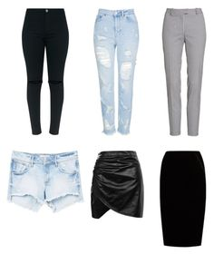 """bottom"" by oyuwore on Polyvore featuring Topshop, Altuzarra, Boohoo, Jupe By Jackie and MANGO"