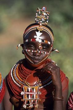 Maasai girl in Laikipiak, Kenya
