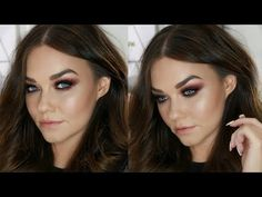 Flawless Skin & Sexy Smoked Out Eyes | Evening Glam Makeup Tutorial For Travel Tired Eyes! http://makeup-project.ru/2017/08/15/flawless-skin-sexy-smoked-out-eyes-evening-glam-makeup-tutorial-for-travel-tired-eyes/