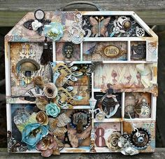 Altered Project and Mixed Media Tags on Live with Prima