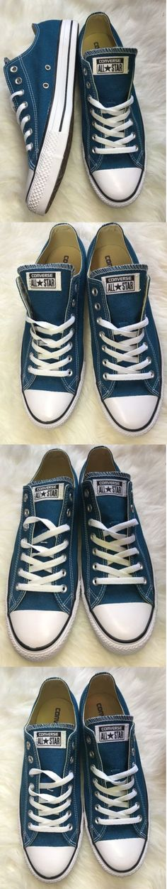 Unisex Adult Shoes 155196: Chuck Taylor Converse All Star Blue Lagoon Mens 11 Womens 13 -> BUY IT NOW ONLY: $32.01 on eBay!