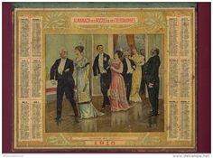calendrier 1915