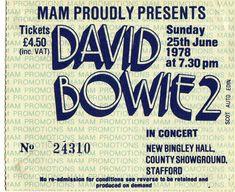 diamondheroes: 70s & 80s David Bowie Concert... - Wait, what?
