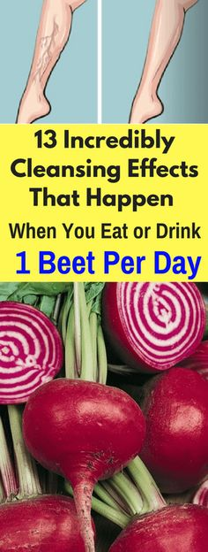 13 Incredibly Cleansing Effects That Happen When You Eat or Drink 1 Beet Per Day – Today Health People