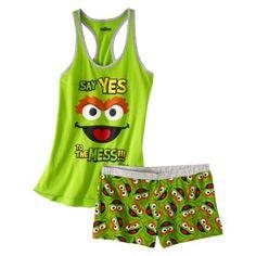 8fc93822e Sesame Street Oscar the Grouch Sleep Outfit. I want this! Oscar The Grouch