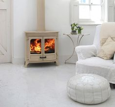 Charnwood 111 boiler stove..just the right amour of modern and traditional ;)