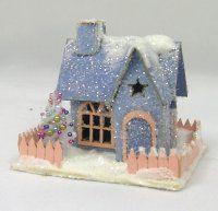 """""""LIttle Star"""" Miniature Putz House Kit"""
