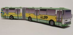This vehicle paper model is a Karosa B an articulated urban bus produced by bus manufacturer Karosa from the Czech Republic, the papercraft is created Paper Car, 3d Paper, Paper Crafts, Diy Crafts, Magic Store, Paper Magic, Paper Models, Printable Paper, Scale Models