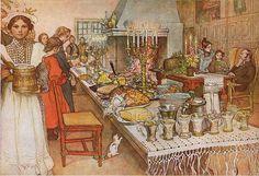 Julaftonen av Carl Larsson 1904 - Carl Larsson