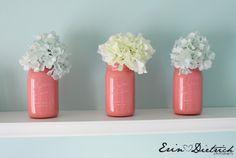 painted mason jars!