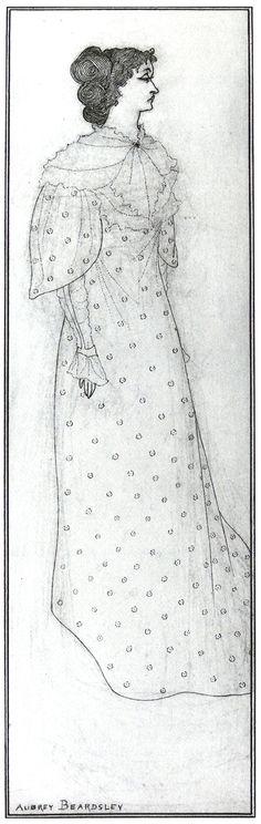 The Platonic Lament, 1894 by Aubrey Beardsley. Art Nouveau (Modern). illustration. Private Collection