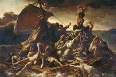Théodore Géricault - Géricault, Floß der Medusa