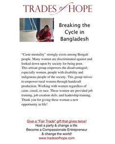Trades of Hope - Dasah Tote