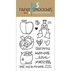 "Paper Smooches Clear Stamps 4""X6"" -Falling For You -- Awesome products selected by Anna Churchill"