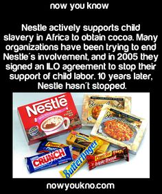 """blackraystyles: """"destinysfetus: """"blexicana: """"nothing2apologize4: """"smidgetz: """"nowyoukno: """"Source for more facts follow NowYouKno """" Nestle also doesn't think that water is an essential human need."""