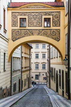 Strana district - Prague, Czech Rep