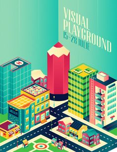 Visual Playground 2013 by Paula Rusu, via Behance
