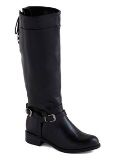 Steadfast Style Boot in Black, #ModCloth