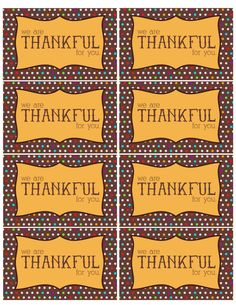 The Larson Lingo: Thankful For You {Free Printable}. SO cute to put with treats for co workers or neighbors or anyone your thankful for (thanksgiving gifts) Volunteer Gifts, Volunteer Appreciation, Teacher Appreciation Week, Thanksgiving Teacher Gifts, Thanksgiving Treats, Thanksgiving Decorations, Thanksgiving Prayer, Thanksgiving Blessings, Thanksgiving 2016