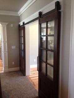 barn door hardware - traditional - interior doors - other metro - Basin Custom