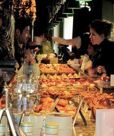 Laduree Pastry Shop in Paris by TravelMaharishi.