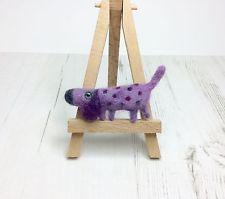 Needle Felted Dog  Brooch / Dachshund / Fun Brooch / made by Ingrid Wolf