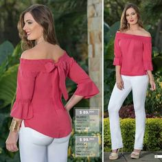 Best 10 Pink blouse with bow and white pants – SkillOfKing. Fall Outfits, Casual Outfits, Latest Tops, Corsage, Blouse Dress, White Pants, Fashion 2020, Blouse Designs, Fashion Dresses
