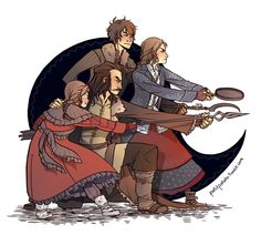 Even though I didn't draw much fanart lately, I'm still totally in the Hobbit fandom!