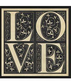 Love Fleur Framed Print