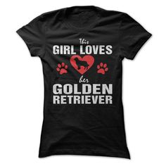 This Girl Loves Her Golden Retriever!