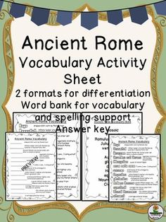 A historical microbiology lesson pathogens and infectious diseases ancient rome vocabulary fandeluxe Image collections