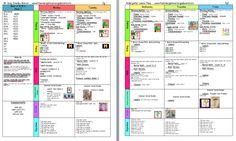A Kindergarten Smorgasboard Schedulin Sunday!... Chicka Chicka Boom Boom