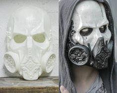 THE DOCTOR -Blank Edition- (Resin Skull Full-Face Mask)