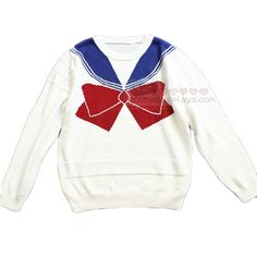 Sailor Moon Inspired Red and Blue Sweater OC3167