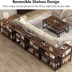 Rustic Sofa Tables, Long Sofa Table, Couch Table, Sofa End Tables, Entryway Tables, Bar Table Behind Couch, Sofa Table With Storage, Shelving Behind Couch, Bookcase Behind Sofa