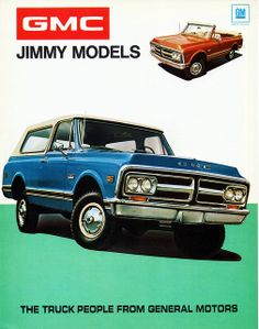 1972 GMC Jimmy Models
