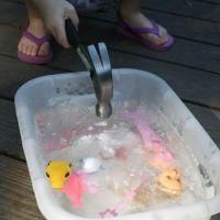 Frozen Treasure {Cool Crafts}- You have to work hard for the treasure of the Kingdom