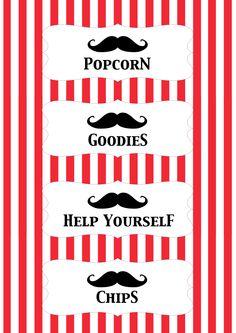 mustache party | Celebrate / The Moustache Party - RAWR Magazine