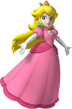 Princess Peach, one of my favorite characters from Nintendo's Mario franchise. The issues of female characters only being the damsel in distress is a question this character. Her character is redeemed through games like Mario Party, Smash Bros and Mario Kart which allows a player to pick Princess Peach as any other character you could choose, even allowing her to kick some serious ass.