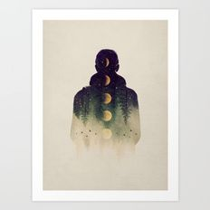 Art Print featuring Night Air by Enkel Dika