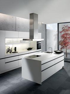 Moderne keuken van SieMatic.  Digitaal Woonmagazine #wooninspiratie http://www.digitaal-woonmagazine.nl