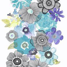 Dutch Village People | Flower Power - Behangwereld