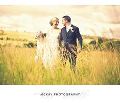 Flashback to Lauren & Rob's summer wedding at @centennialvineyards - I just love shooting in the wide open spaces around Bowral like this grass field  #mckayphotography #wedding #bowralphotographer #bowralwedding #weddingbowral #southernhighlands #centennialvineyards