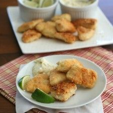 Coconut Crusted Mahi Mahi Nuggets