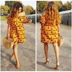 Best Afro Fusion Ankara Styles: See The Latest Trends - Wedding Digest Naija African Fashion Designers, African Fashion Ankara, African Print Fashion, African Wear, African Women, African Style, Africa Fashion, Ankara Short Gown Styles, Ankara Gowns