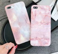 Phone Case For Iphone 6 7 8 Plus X Pink Marble Soft Silicone Griotte Pattern Pink Phone Cases, Phone Cases Marble, Cute Phone Cases, Iphone 6, Iphone 7 Plus, Iphone Cases, Phone Jokes, Iphone Price, Aesthetic Phone Case