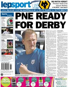 Today's back page 05-08-13