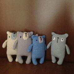 Ravelry: Miguel the bear pattern by Olga Bortniak